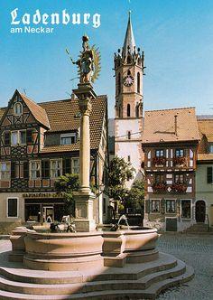 Ladenburg, Rhein-Neckar-Kreis, Baden-Württemberg, Germany