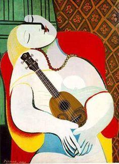 Picasso with ukulele: The Dream is to fall asleep beside my Ukulele. Ukulele Art, Cool Ukulele, Ukelele, Ukulele Songs, Ukulele Chords, Guitar Art, Banjo, Pineapple Ukulele, Twitter