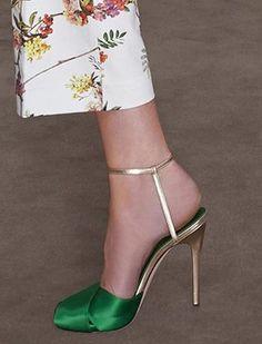 Giambattista Valli Resort 2014 Sandals as seen on Jessica Biel