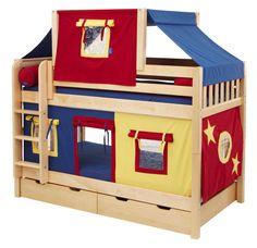 Fun Toddler Bunk Beds with Inspiring Ideas : Fun Fort Bunk Bed