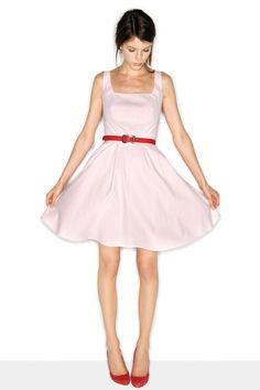 Robe sans manches évasée rose petale Naf Naf Flare Dress, Sleeves, Woman  Clothing, 6574fa29855