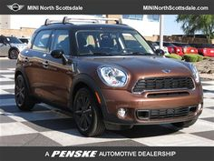 2013 MINI Cooper Countryman; chocolate brown - awww love this color and in love with Mini!