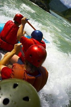 Rafting team close-up. Paddling team on a raft and splashing water , Adventure Activities, Solo Travel, Rafting, Close Up, South Africa, Things To Come, African, Stock Photos, Trips