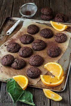 Biscotti cioccolato arancia morbidi e gustosi