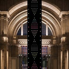 """Innovator @kimthome combines color and 600 #Swarovski crystals for his new installation """"Zotem"""" now at the @vamuseum for #LDF15 - Shop now for swarovski > http://ift.tt/1Ja6lvu"""