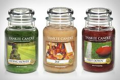 I really want that Riding Mower candle. Mmmmm grass