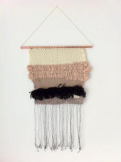 Tissage Mural Contemporain / Art Textile #weaving