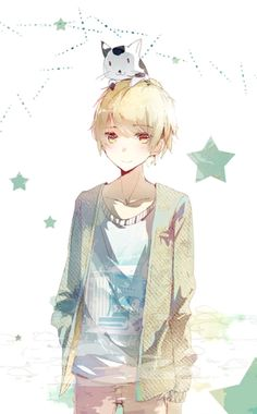 Image shared by Quỳnh Hương. Find images and videos about cute, boy and anime on We Heart It - the app to get lost in what you love. Cute Anime Boy, Hot Anime Guys, I Love Anime, Anime Boys, Awesome Anime, Blonde Anime Boy, Blonde Kids, Anime Child, Anime Art Girl