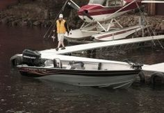 New 2008 Crestliner Boats Canadian 18 SC Multi-Species Fishing Boat