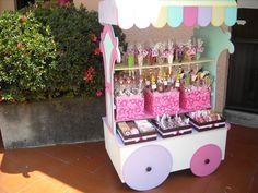 Candy Bar Carros Kiosco Baby Shower Golosinas