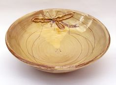 Mary Johnson Ceramics - Traditional earthenware pottery with unusual contemporary daddylong legsdecoration