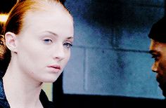 Sophie Turner in the trailer for Barely Lethal. gif.