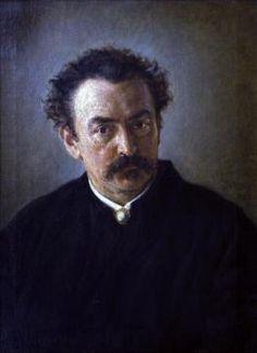 Jan Matejko, Portret Henryka Anastazego Gropplera, 1872 r.   #listopad #movember #wąsy #moustache #november