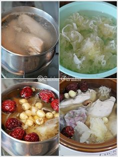 Herbal And Rose Chicken Soup Herbal Chicken Soup, Chicken Soup Recipes, Herb Recipes, Asian Recipes, Cooking Recipes, Cooking Tips, Chinese Herbs, Chinese Food, Chinese Medicine