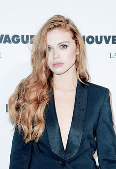 Holland Roden attend the'Nouvelle Vague by Lancome' party - Haute Couture FallWinter 2014-2015