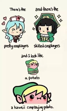Yup kawaii potato
