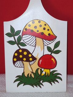 Vintage Merry Mushroom Collection  1976  Sears Roebuck by daddydan,