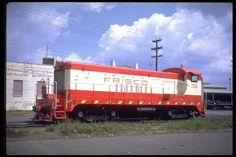 (VO1000M).  St Louis & San Francisco  R.R.  #206.  VO1000M. SLSF  repowered their Baldwin VO1000's with EMD 567C prime movers.