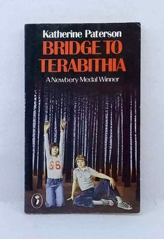 A Bridge to Terabithia by Katherine Paterson Newbery Award Winner used paperback Katherine Paterson, Newbery Award, Bridge To Terabithia, Sleepy Bear, Award Winner