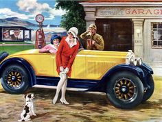 1920's car. I picked this because it reminds me of the Great Gatsby.