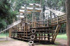 つくば森林公園遊具