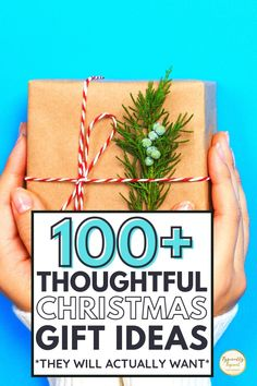 101+ thoughtful Christmas gift ideas for when you want to give the gift of memories and treasured experiences! This ultimate Christmas gift guide features meaningful Christmas gift ideas for him, her and kids, zero waste Christmas gifts that are better for the planet and Christmas gifts to make if you like making DIY Christmas crafts.Give them something they actually want this year! Cheap & budget friendly Christmas gift ideas #christmas #christmasgifts #giftideas #giftguide #giftgiving Amazon Christmas Gifts, Meaningful Christmas Gifts, Christmas Gifts For Sister, Thoughtful Christmas Gifts, Christmas On A Budget, Homemade Christmas Gifts, Christmas Gift Guide, Best Mens Christmas Gifts, Christmas Crafts