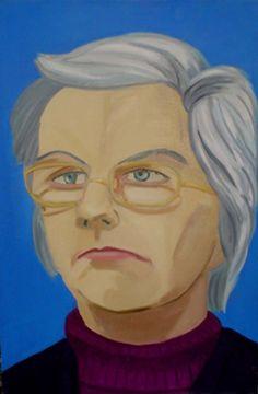 'Joan' oil on canvas, 90 x 60cms, 2002