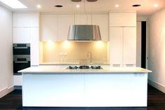 white contemporary kitchen in London