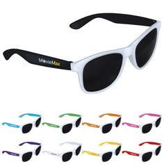 96dacc3230cb Classic folding eyewear with UV400 protective lenses. Assorted colors  available at no extra charge