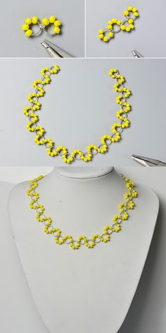 Like this yellow seed beads necklace?The details will be shared by LC.Pandahall.com soon.