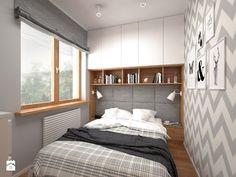 Projekt mieszkania 30 m2 - Sypialnia, styl skandynawski - zdjęcie od BIG IDEA studio projektowe