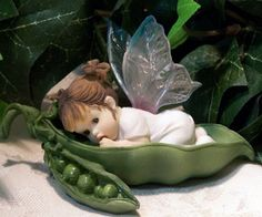 Enesco fairy collection | My Little Kitchen Fairies from Enesco My Little Sweet Pea Fairie ...