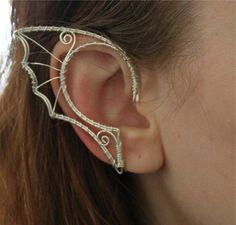 elf ears! They look like dragon wings!!! Or fishy ears like for a mermaid