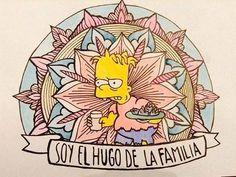 Soy el Hugo de la familia #delujo Simpsons Simpsons, Simpsons Tattoo, Aliens, Grunge, Futurama, Mini Tattoos, Cool Cartoons, Cool Wallpaper, Aesthetic Anime