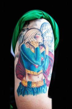 Supergirl Tattoo.