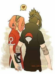 Sasuke y sakura love