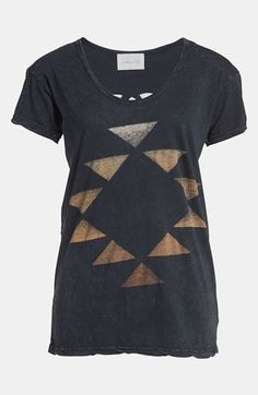 Idlewild Back Cutout Scoop Neck Tee available at Nordstrom.  The back has a creally cool cut out pattern.