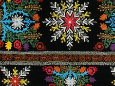 My Bohemian Aesthetic  Detail of a Suzani textile for sale at Yurdan.com
