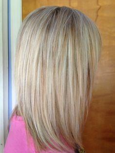 Work in progress multiple light blondes foils hair