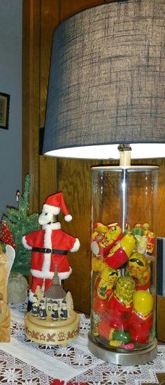fillable lamp using ussr matryoshka dolls nesting dolls - Fillable Lamp