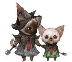 Siamese Wizards