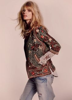 The Free People Catalog Is Looking an Awful Lot Like Vogue Lately: Julia Stegner, October 2011