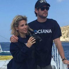 Chris Hemsworth and Elsa Pataky Instagram Photos