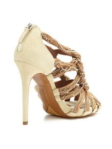 Twisted Fringe/Crystal Sandal by Tabitha Simmons at Gilt
