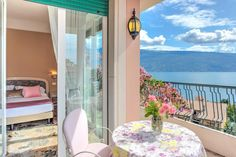 Just 100m from the beach at Lake Garda is Hotel Villa Europa. This romantic villa offers flower-covered terraces with panoramic views across the mountains and the lake. A swimming pool is located at 50m at the sister property Resort La Campagnola. A short stroll takes you to the centre of Gargnano with its wealth of small restaurants and pizzerias.