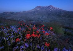 A Passing Glimpse - Mount St. Helens, Washington read more at www.DaveMorrowPhotography.com  Check out my FREE Star Photography Tutorial  and  Star Photography Post Processing Video Tutorial    Ready to learn star photography? My summer star photography workshop schedule for 2014 is now up and running.Under the Stars Night Photography Workshops