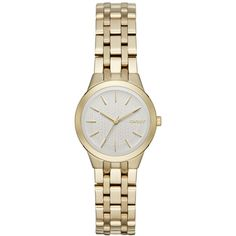 698c3ef45c Dkny Women s Park Slope Gold-Tone Stainless Steel Bracelet Watch 28mm  NY2491 Stainless Steel Watch