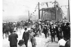 The old Granville Street Bridge, Summer 1909 Granville Street, Some Beautiful Images, West Coast, Vancouver, Dolores Park, Bridge, Old Things, Street View, Landscape