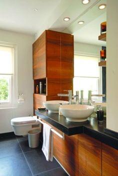 Londoni eklektika - világos fürdőszoba