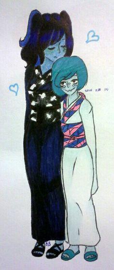 ·Kimono Kissu· Webra is my OTP you have no idea. Happy Valentine's Day everyone! More kimono pictures to come!